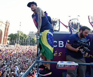 fc barcelona, champions, and neymar image