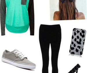 outfit and vans image