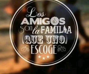 family, amigos, and friends image