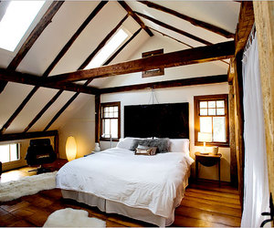 architecture, bedroom, and decor image