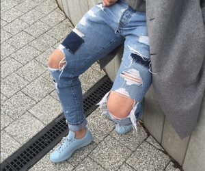 blue, denim, and jeans image