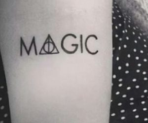 magic, tattoo, and harry potter image