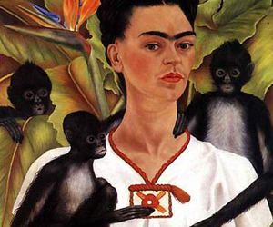 frida kahlo, painting, and art image