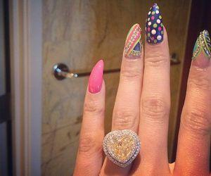 nicki minaj and nails image