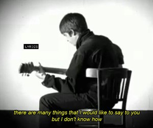 music, oasis, and rock image