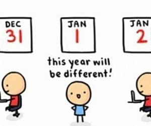 new year, funny, and different image