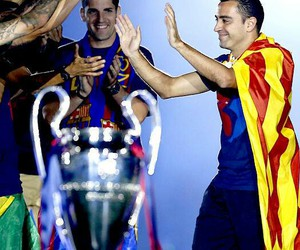 xavi, Barca, and legend image