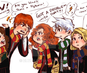 harry potter, merida, and jack frost image