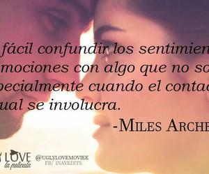 frases en español, miles archer, and uggly love image
