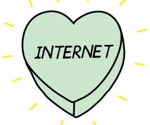 internet, heart, and tumblr image