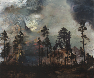 forest and painting image