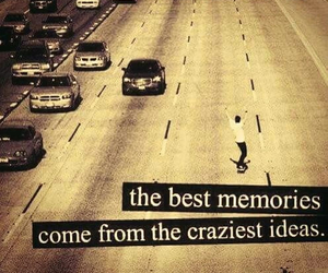 crazy, memories, and ideas image