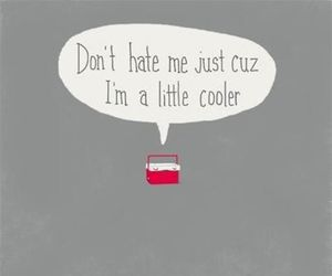 funny, cooler, and hate image