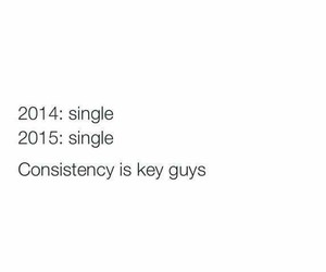 single, 2015, and consistency image