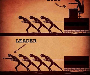 leader and boss image