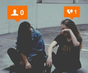 broken, grunge, and sad image