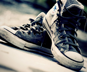 all stars, converse, and shoes image