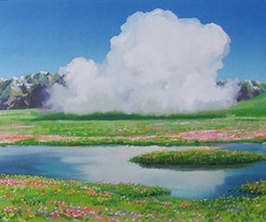background, beauty, and howl's moving castle image