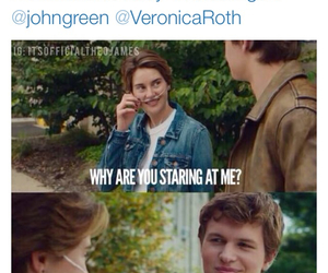 funny, Shailene Woodley, and divergent image