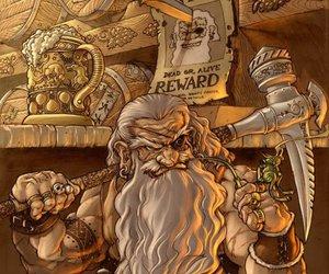 art, Ilustration, and viking image