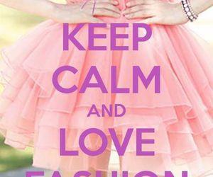 fashion, keep calm, and pink image