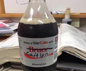 bruce jenner, coke, and funny image