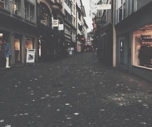 city, grunge, and street image