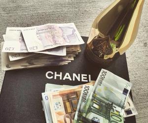 chanel, money, and luxury image