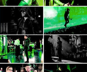 arrow, green, and oliver queen image