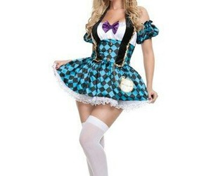 costume, smile cat, and alice in wonderland image