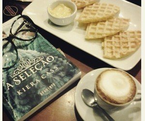 book, waffle, and the selection image