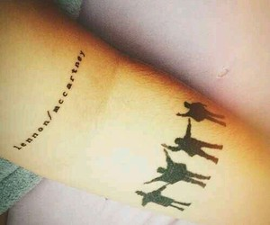tattoo, help, and the beatles image