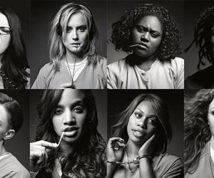 black and white, cast, and elenco image