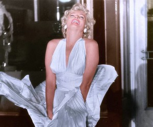 happy, movie, and marilyn image