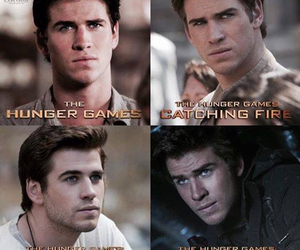 the hunger games, liam hemsworth, and catching fire image