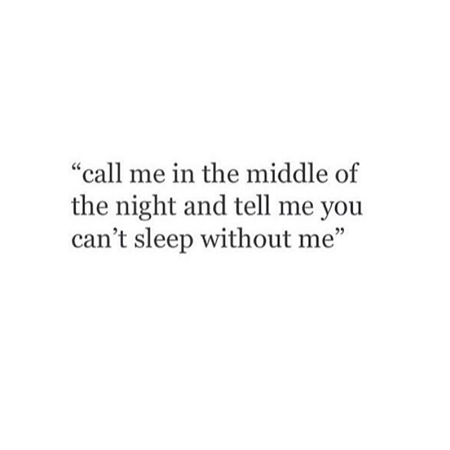 I can\'t sleep without you on We Heart It