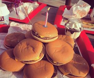 food, delicious, and hamburger image