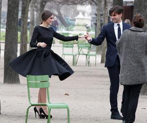 couple, dress, and olivia palermo image