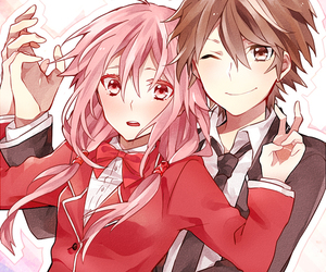 guilty crown, anime, and anime girl image