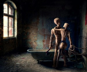 bdsm, couple, and decay image