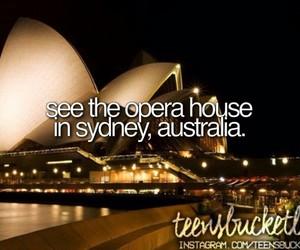 australia and bucketlist image