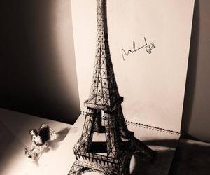 paris, drawing, and 3d image