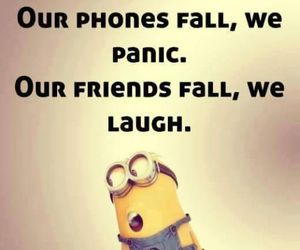 minions, funny, and friends image