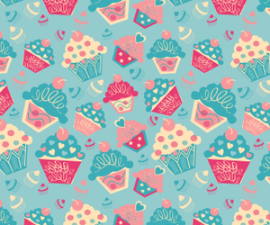cupcake, iphone, and kawaii image