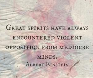 Albert Einstein, violent, and minds image