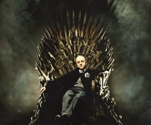 draco malfoy, harry potter, and game of thrones image