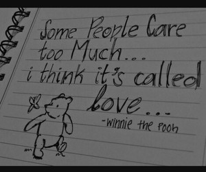 love, quote, and winnie the pooh image