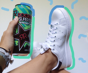 adidas, rockstar, and stan smith image