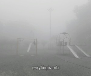 awful, fog, and foggy image