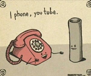 iphone and youtube image